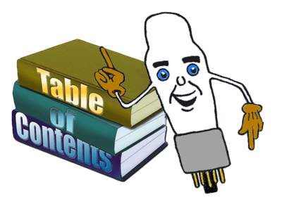 contents tone lizard rh tone lizard com  table of contents clipart