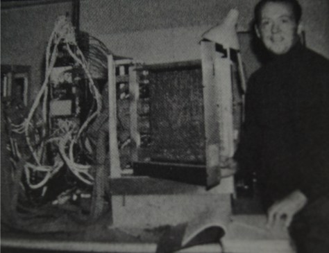 An early prototype of the A.S.P. digital audio computer