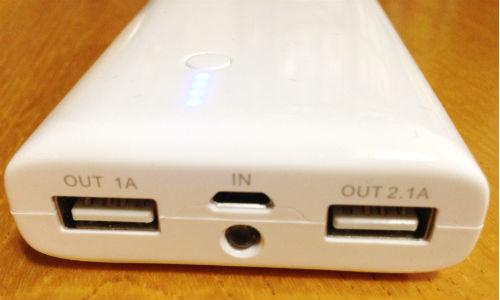 USB出力2ポート