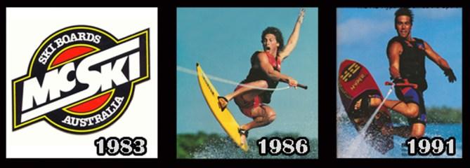 140805 History of Wakeboarding TImeline Finn Perez Skurfer Hyperlite McSki