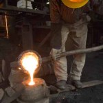 Making cast iron kettles in Iwate Northern Japan