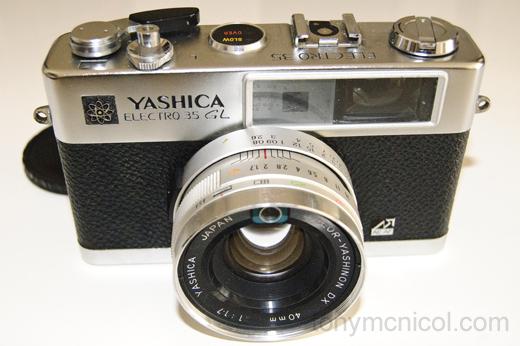 Yashica Electro 35 GL 40mm f1.7