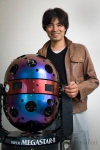 Takayuki Ohira, creator of the Megastar planetarium