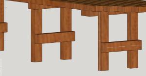 Corner Bench legs