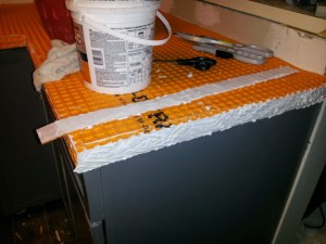 9 How to Tile Countertop- Toolbox Divas