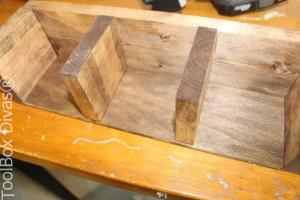 5-2. DIY Wooden Centerpiece - ToolBox Divas