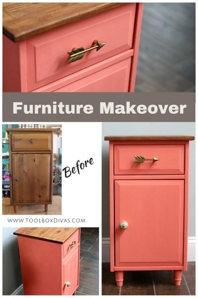 Furniture Makeover - Toolbox Divas