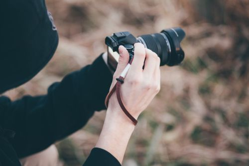 Medium Of Camera Wrist Strap