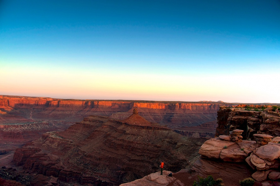 Bob Lussier at Dead Horse Point