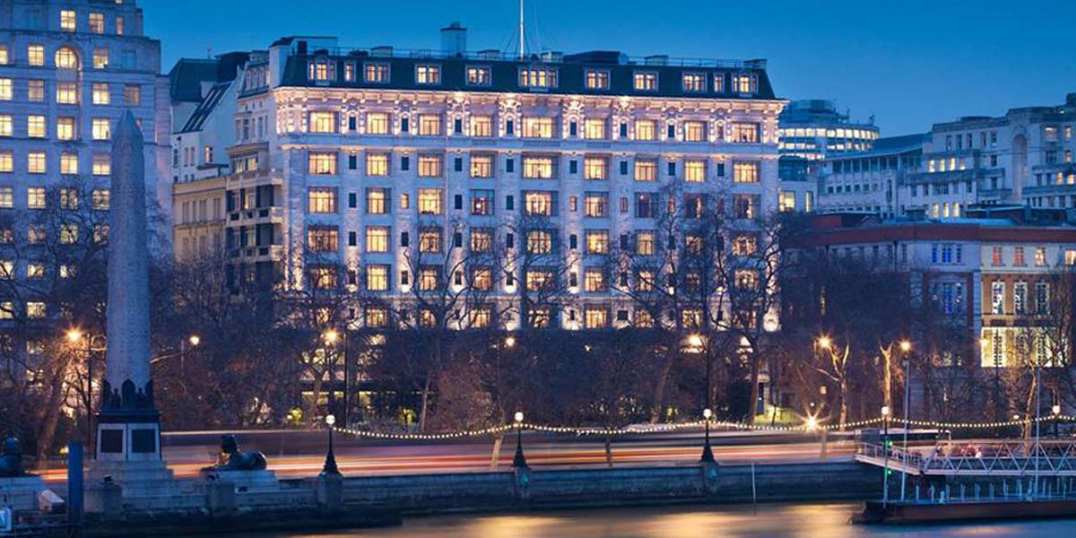 5 Star Hotel Venue In London, The Savoy, Prestigious Venues