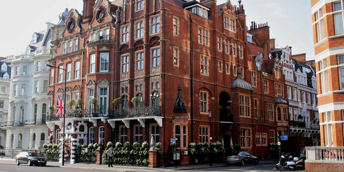 Best Hotels Near Kensington Palace, The Milestone Hotel, Prestigious Venues