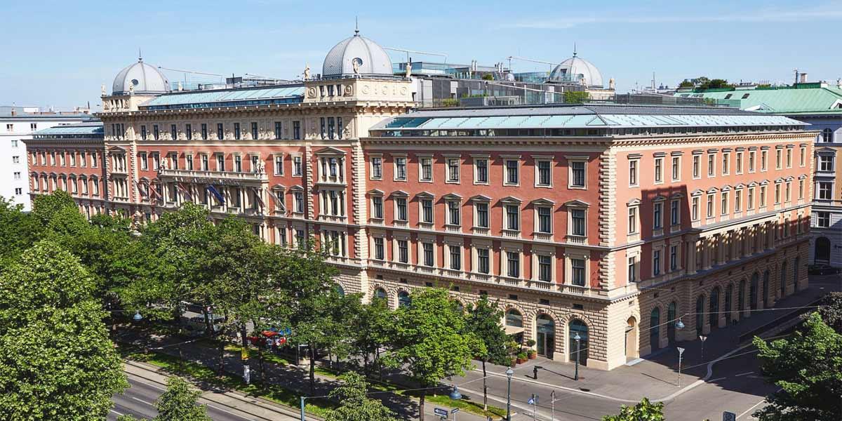 Luxury Hotel Venue, Palais Hansen Kempinski Vienna, Prestigious Venues