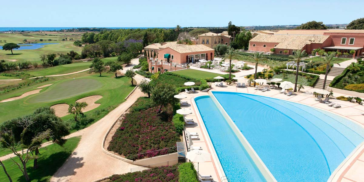 Outdoor Pool Venue, Donnafugata Golf Resort & Spa, Prestigious Venues