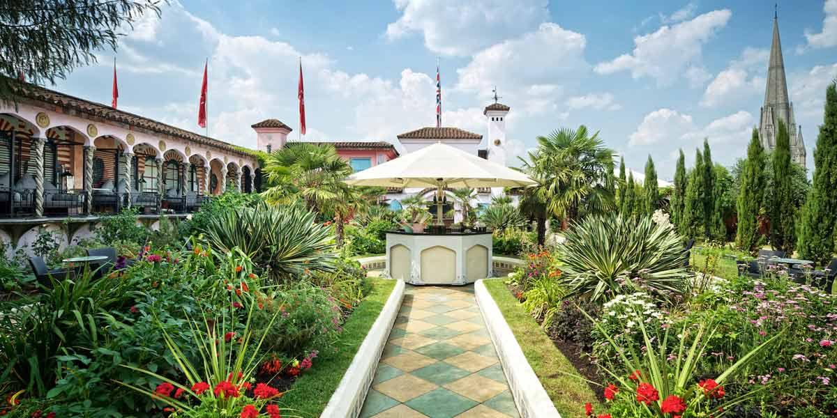 Spanish Garden Outdoor Venue Kensington, Roof Gardens, Prestigious Venues