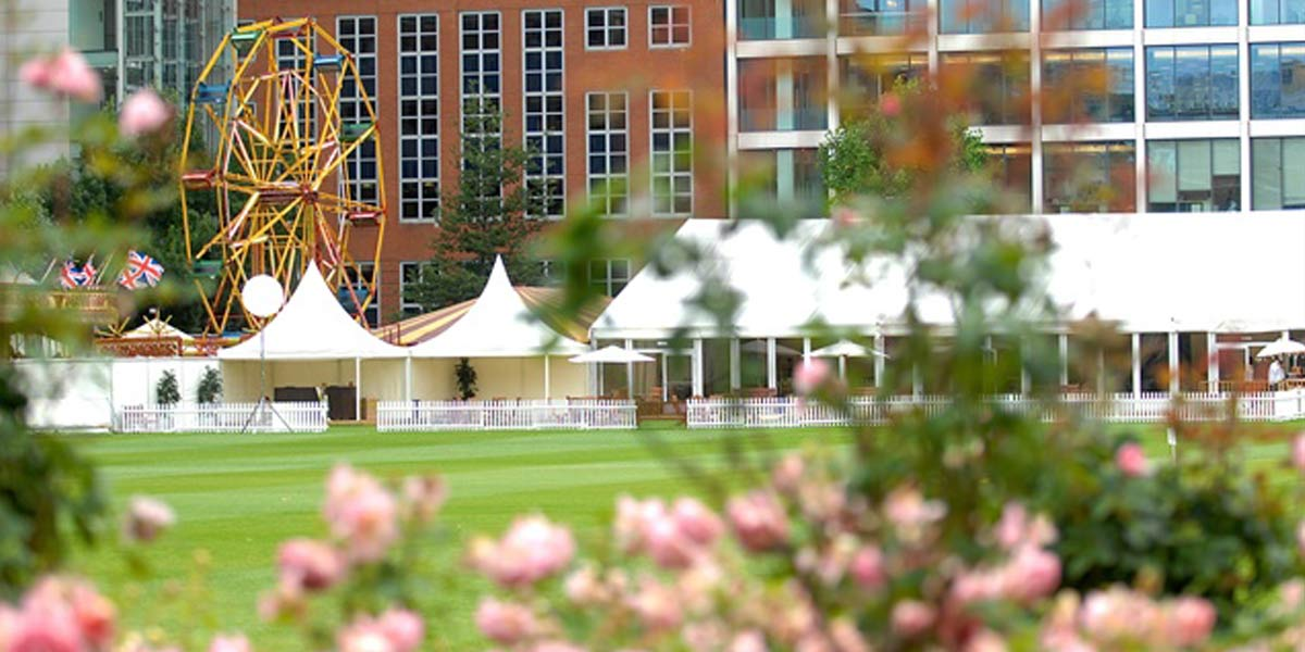 Summer Reception Venue, The Artillery Garden At The HAC, Prestigious Venues