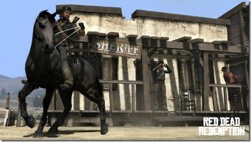 Red Dead Redemption Top 10 jogos PlayStation 3