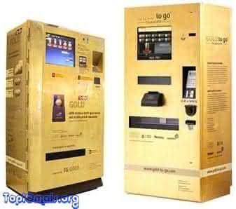 maquina de comprar ouro