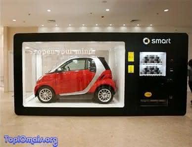 maquina de vender carros