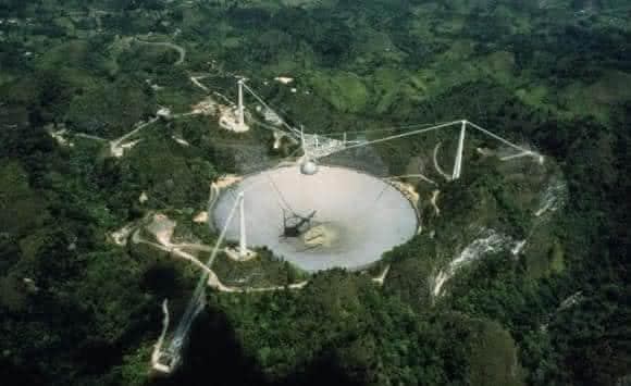 Sinal de radio a recebido pelo projeto SETI em tres ocasioes