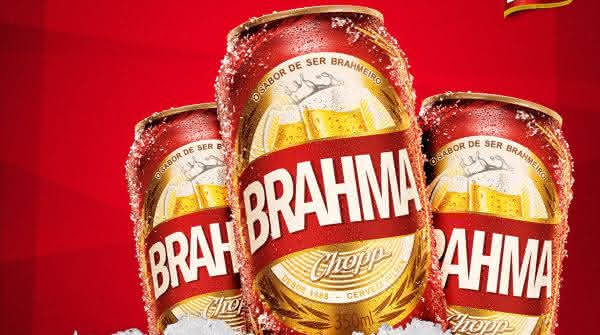 cerveja brahma