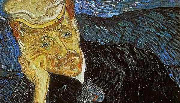 Retrato de Dr Gachet – Vincent van Gogh
