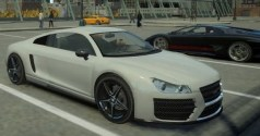 Top 10 carros encontrados no GTA V