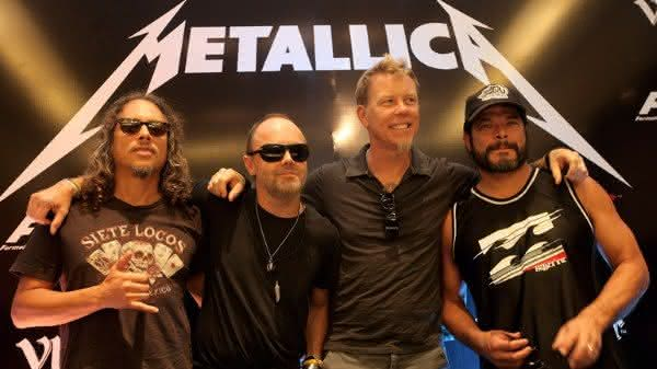 metallica uma das melhores bandas de rocks