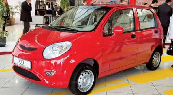 039208b4717 Chery IQ um dos carros mais baratos do mundo