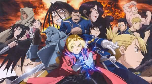 Fullmetal Alchemist entre os melhores animes da historia