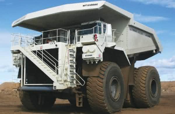 Terex MT 6300AC entre os maiores caminhoes do mundo