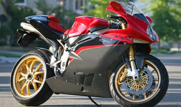 mv agusta f4 tamburini entre as motos mais rapidas do mundo