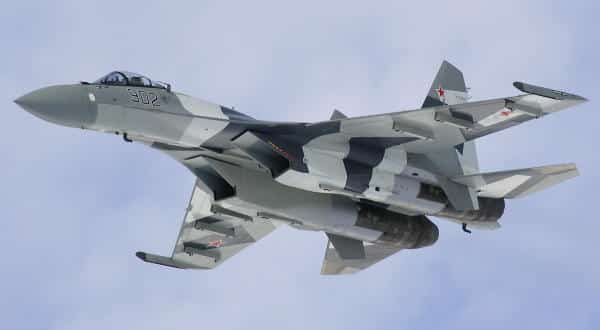 Su-35 entre os caças mais caros do mundo