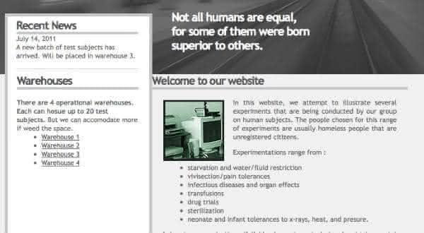 experimentos humanos coisas absurdas encontradas na Deep Web