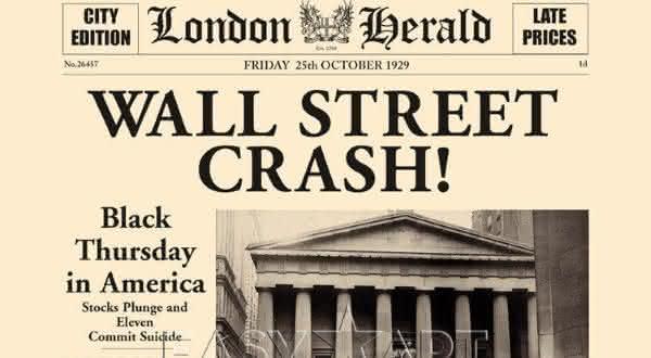 queda da bolsa de valores entre as maiores crises financeiras de todos os tempos