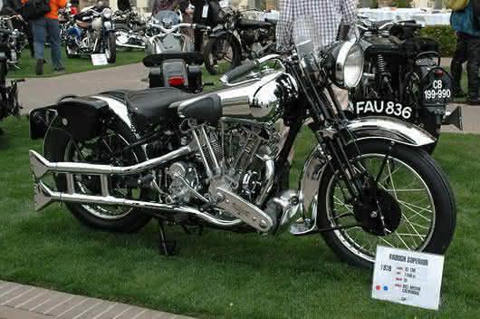 1939 Brough Superior SS100 entre as motos mais caras ja vendidas em leilao