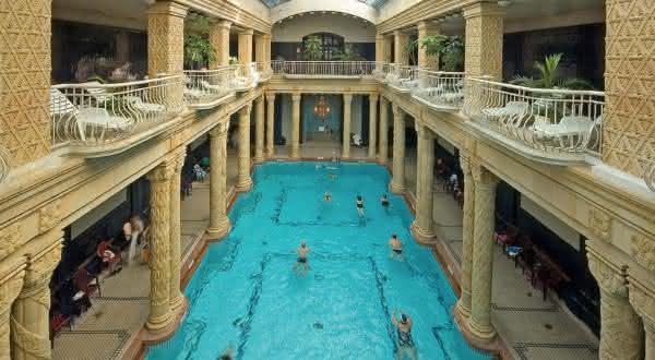 Gellert Thermal entre as piscinas mais caras do mundo
