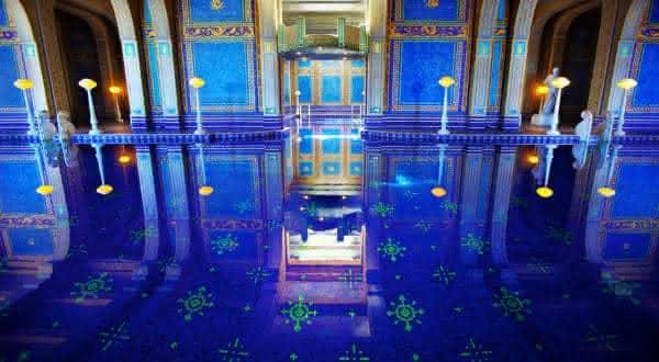 Hearst Castle 2 entre as piscinas mais caras do mundo