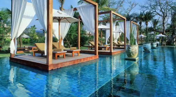 Sarojin Resort 2 entre as piscinas mais caras do mundo