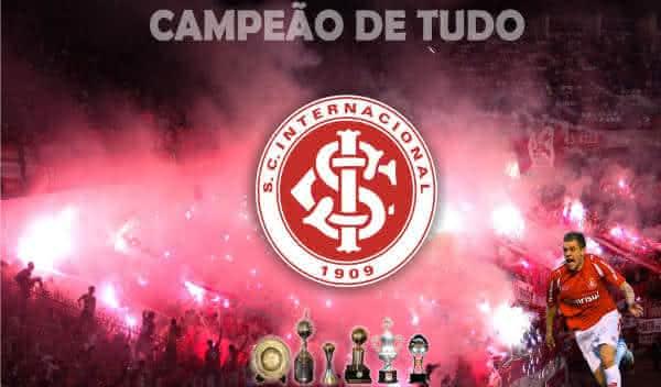 internacional entre os clubes com mais titulos nacionais do Brasil