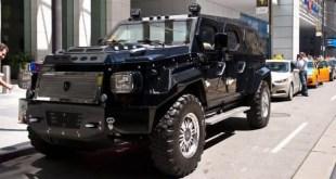 Top 10 carros blindados mais caros do mundo