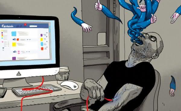 compartilha tudo sinais de que voce e viciado em redes sociais