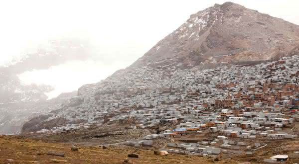 La Rinoconada entre as cidades de maior altitude no mundo