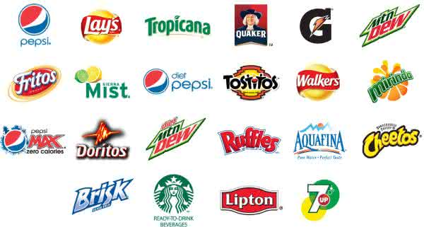 pepsico entre as maiores empresas de produtos de consumo do mundo