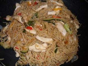 fideos chinos con pollo y verdura mejores comidas chinas