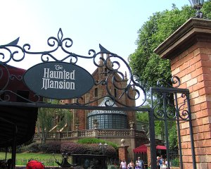 5.- Haunted Mansion Mejores atracciones en Disney World