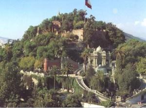 Cerro Santa Lucía Lugares para visitar en Chile