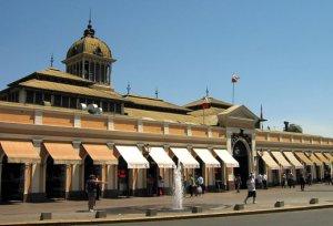 Mercado Central Lugares para visitar en Chile