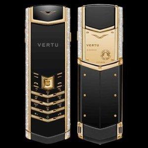 Vertu Signature Diamond celulares más caros del mundo