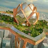 ქალაქი ცაში - ბულგარელი არქიტექტორის მომავლის სამყარო