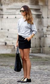 amazing black and gold loafers